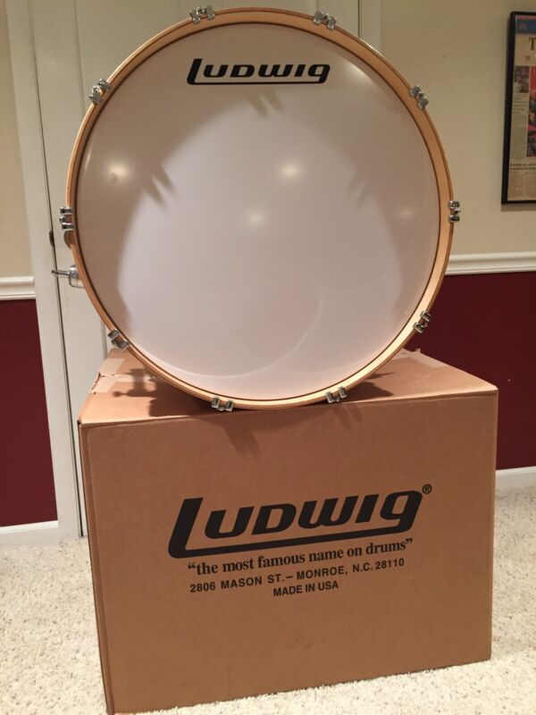 Vintage Ludwig Classic Maple Bass Drum (26x14) - Mint Condition