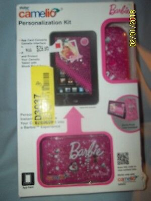 Vivitar Camelio Barbie Personalization Kit With App Card   Open Box
