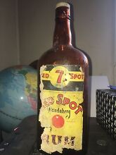Antique Vintage Early BUNDABERG RUM 7 SPOT Rum Bottle Keperra Brisbane North West Preview