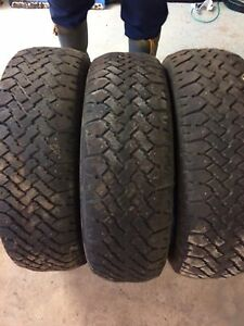 3 studded winter tires