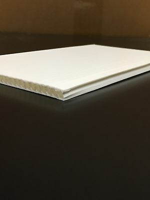 4mm White 18 X 24 Corrugated Plastic Coroplast Sheets Sign