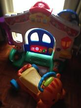 Fisher-Price Laugh & Learn Learning Home+ Walk & Ride City North Canberra Preview