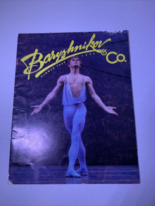 MIKHAIL BARYSHNIKOV & Co Tour Program 1983 SUMMER TOUR
