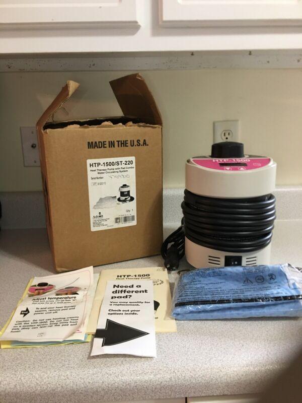 Adroit HTP-1500 Heat Therapy Pump w/ NEW Medium Pad, Original Box & Instructions
