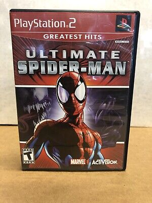 Ultimate Spider-Man (Sony PlayStation 2) PS2| Complete | Very Good Condition GH