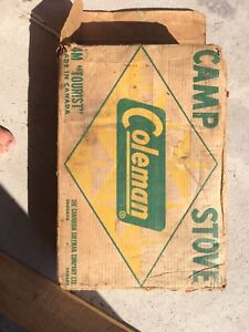Old Coleman Camp Stove