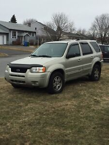 VUS Ford Escape 2003 Limited Or