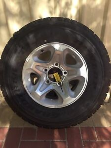 LandCruiser GXL Rims/tyres. Guildford Swan Area Preview