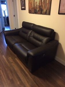 Power recliner couch sofa