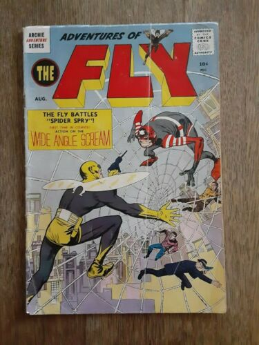 Adventures of The Fly #1  First Fly