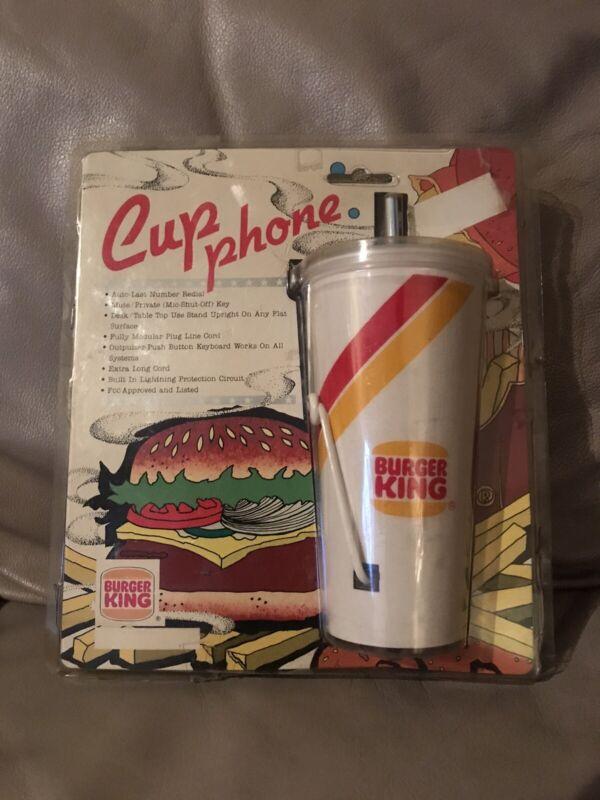 Vintage 1987 Burger King Cup Phone Rare