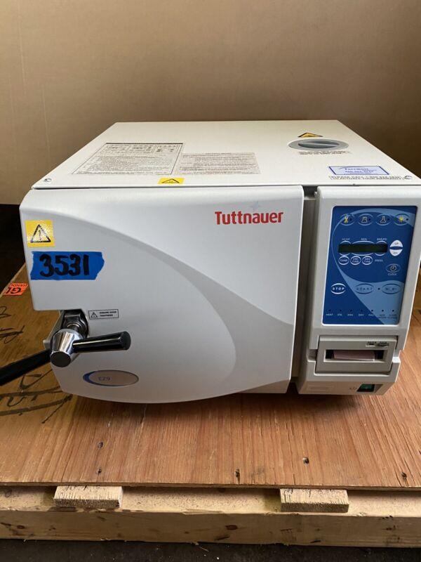 TUTTNAUER EZ9 Fully Automatic Tabletop Autoclave/ Sterilizer w/ printer &Manual