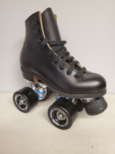 Brand New Riedell 20 Leather Boot Roller Skates Boys size 13