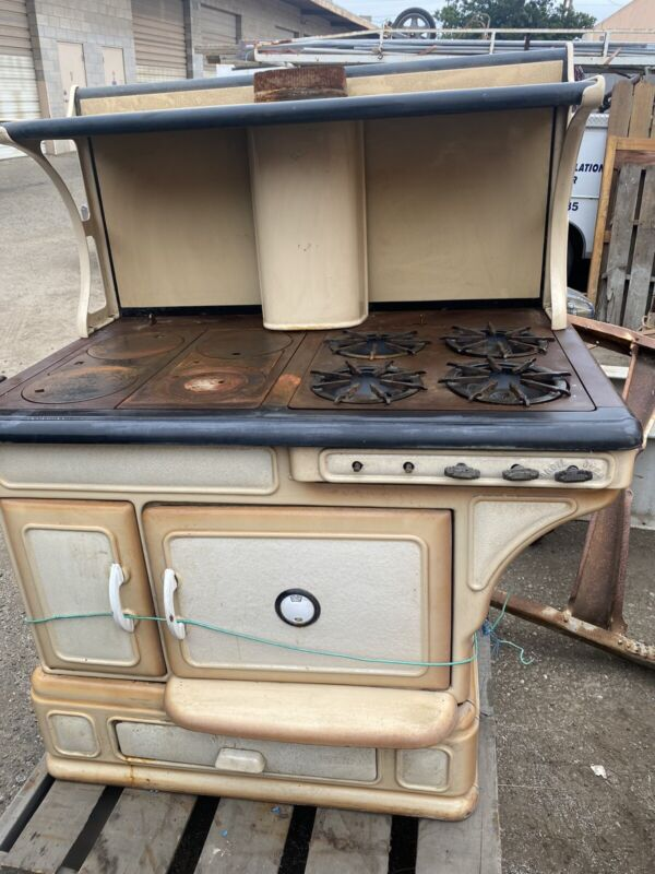Faultless Vintage Wood Oven Antique Gas Stove