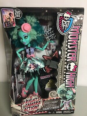 Monster High Frights Camera Action! Doll - Honey Swamp - 2013 NEW