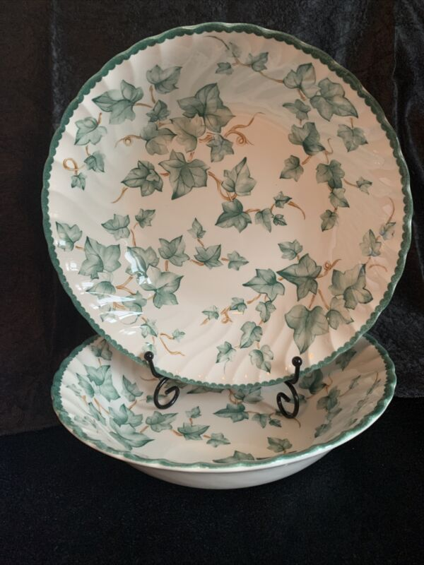 Two International Tableworks Country Vine Serving Bowls . Excellent Condition!
