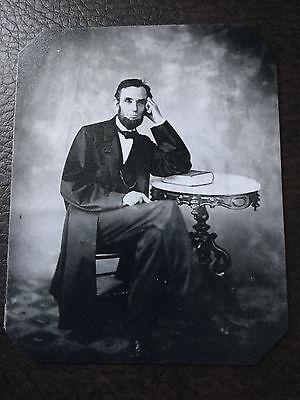Abraham Lincoln Civil War President Tintype C830rp