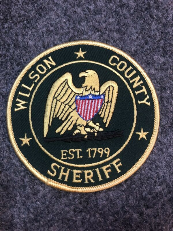 Wilson County Sheriff Police patch Tennessee TN