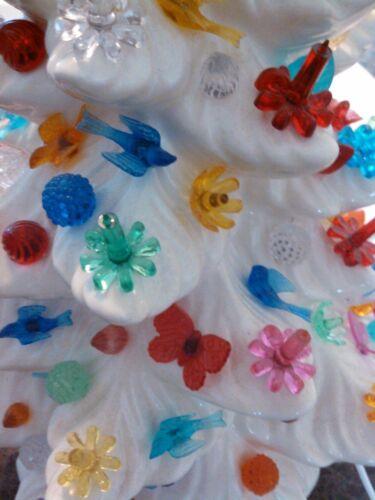 Ceramic Christmas Tree Lights Bulbs Peg 30 UNIQUE Assorted Fun Mix RARE VINTAGE