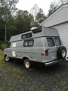 Camper van for sale works great  call 229 4593 will take 3000