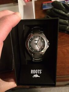 Roots designer men's watch