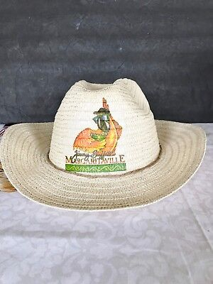 Parrot Party Straw Hat Parrot Head Cowboy Hat Straw Hat Hand Decorated ](Parrothead Hat)
