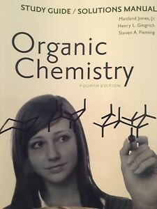 Organic chemistry study guide fourth edition
