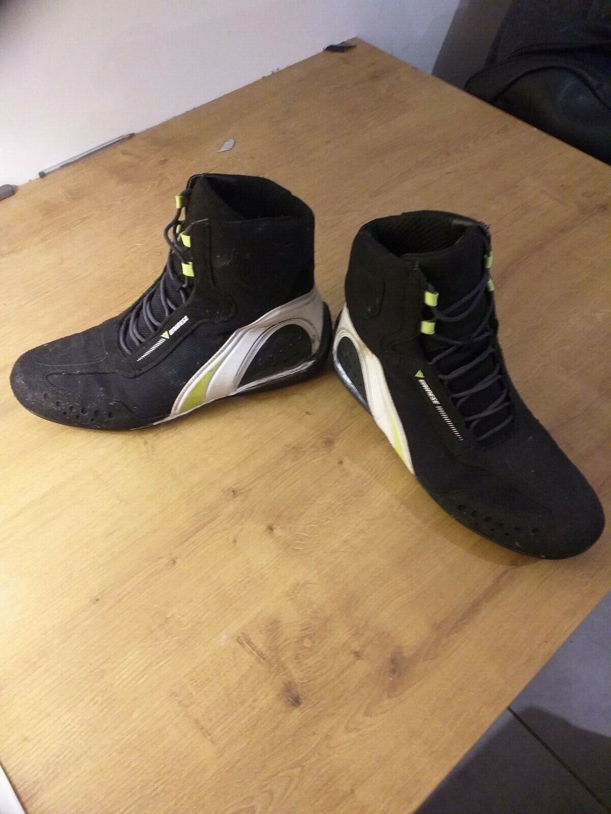 Bottes moto dainese 2 paires+ sac bagster 30l