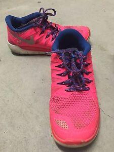 Size 4Y Nike shoes, pick up Hillcrest. Pink $10, Black $5 Hillcrest Logan Area Preview