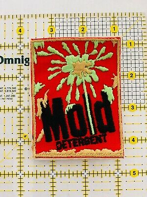"1970'S Vintage WACKY KOOKY ""Mold Detergent "" Patch Iron On or Sew On Unused"