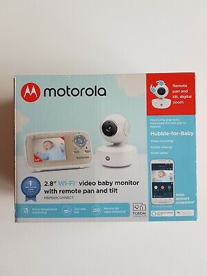 "Motorola MBP669CONNECT Wi-Fi Video Baby Monitor Remote Pan and Tilt 2.8"" Screen"