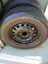 "TWO 15"" RIMS AND TYRES Ingleburn Campbelltown Area Preview"