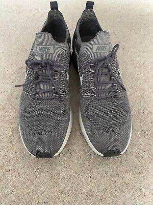 Nike Mens Air Zoom Mariah Flyknit Racer Gunsmoke/White/Atmosphere Grey UK 8.5