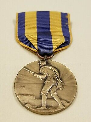 New York Spanish American War Spanish Campaign Service Medal Numbered Type 2