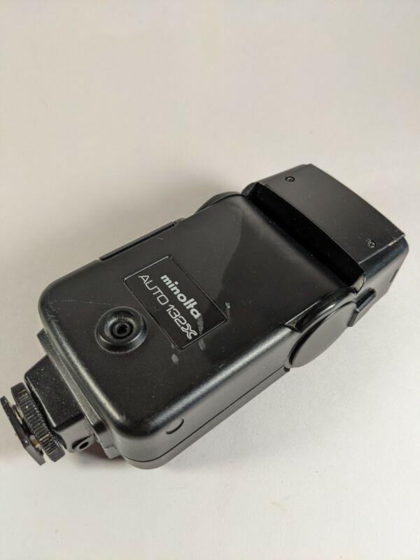 Minolta 132X Auto Shoe Mount Flash Needs Batteries