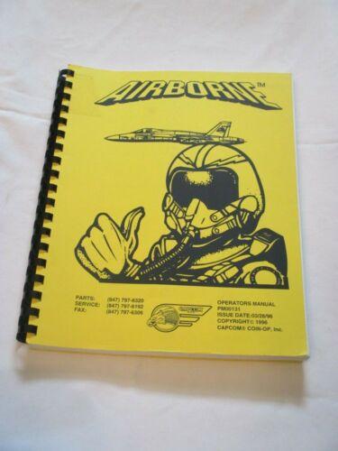 1996 CAPCOM AIRBORNE PINBALL OPERATIONS MANUAL