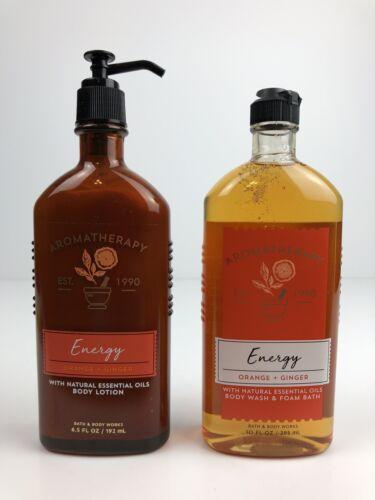 Bath & Body Works Aromatherapy Energy - Orange + Ginger Body