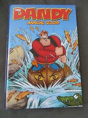 THE DANDY ANNUAL 2009 - Comic - Bananaman - Desperate Dan - Beryl - Gizmo