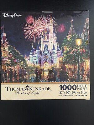 Disney Parks Thomas Kinkade Main Street USA Walt Disney World Resort Puzzle NEW