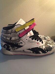 Rare Reebok Classics Freestyle High Top Shoes