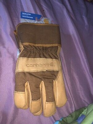 Carhartt Mens Insulated Cold Weather Work Gloves A513s. Xl Nwt