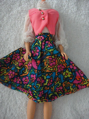 Barbie Festival fashion #1056 Piratenkostüm ohne Puppe / NO DOLL (Barbie Puppe Kostüm)