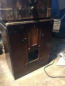General Electric Radio Tombstone cabinet