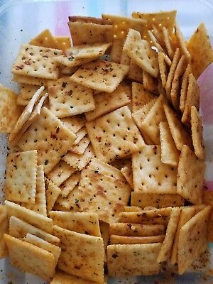 Homemade Snack Crackers Fire Crackers for Salads, Soups, Dips Chili 4th of July - Dip For Crackers