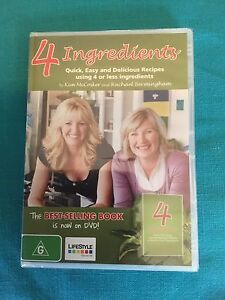 4 INGREDIENTS - DVD - NEW Newcastle Newcastle Area Preview