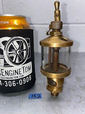 No. 1 12 Brass Cylinder Oiler Hit Miss Engine Antique Steampunk Old Vintage