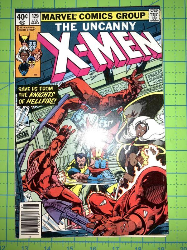 Uncanny X-Men #129, FN+ 1st Kitty Pryde, 1st Emma Frost Marvel Comics