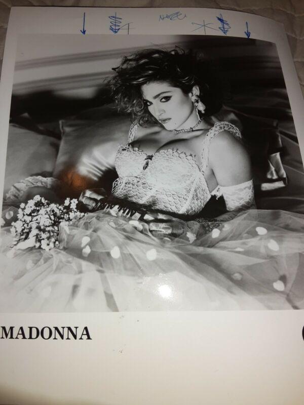 Madonna Press Photo Sire Records