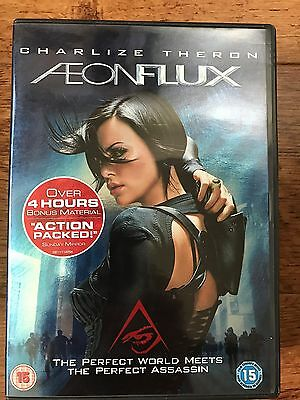 Charlize Theron Amelia Warner Aeon Flux Cult 2005 Futuristic Sci Fi Uk Dvd