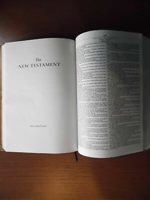 The Holy Bible King James Version Old & New Testaments, Black / GET FREE BIBLES